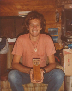 dm with papa joes cigar case gift 1982