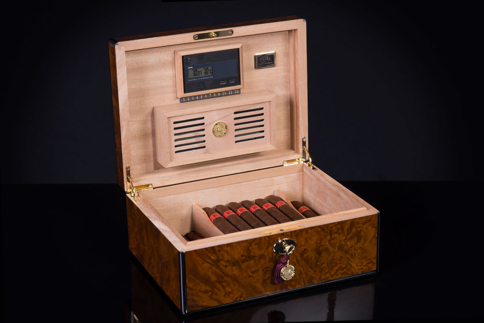 Burl Humidor on sale